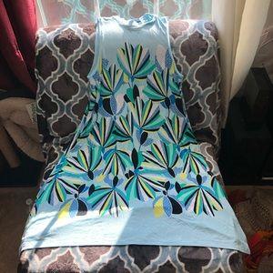 Brand new colorful midi dress